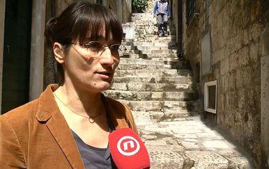 Mara Kolić Pustič iz Vijećnice gradskog kotara Grad (Foto: Dnevnik.hr)