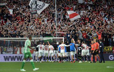 Sevilla slavi pobjedu protiv Betisa (Foto: AFP)