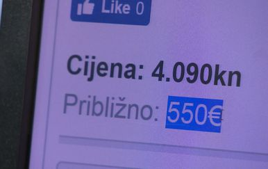 Cijena stana na oglasu (Foto: Dnevnik.hr)