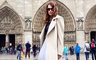 Severina ispred Notre-Dame (Foto: Instagram)