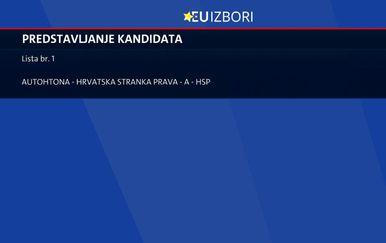 Predstavljanje kandidacijskih lista za europske izbore (Foto: Dnevnik.hr)