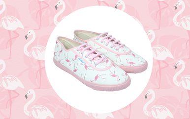 Preslatke Startasice s uzorkom flaminga