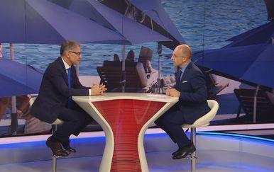 Ministar turizma Gari Capelli i Mislav Bago (Foto: Dnevnik.hr)