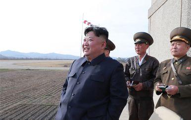 Kim Jong Un (Foto: KCNA VIA KNS / AFP)