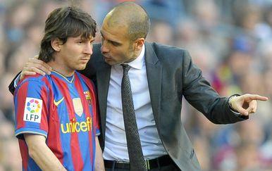 Lionel Messi i Pep Guardiola (Foto: AFP)