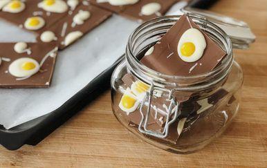 Brza i jednostavna čokoladna jaja na oko