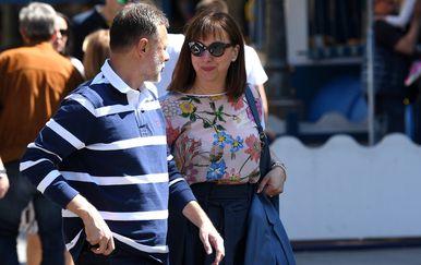 Gordan i Sonja Jandroković (Foto: Marko Lukunic/PIXSELL)
