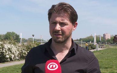 Nositelj liste Živog zida Tihomir Lukanić (Foto: Dnevnik.hr)