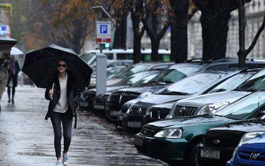 Oblačno i kišovito vrijeme (Foto: Marko Lukunic/PIXSEL)