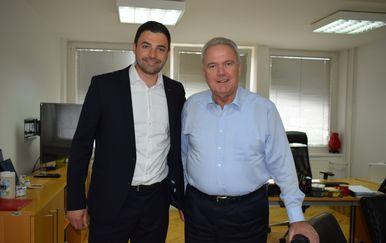 Neven Mimica i Davor Bernardić (Foto: Dnevnik.hr)