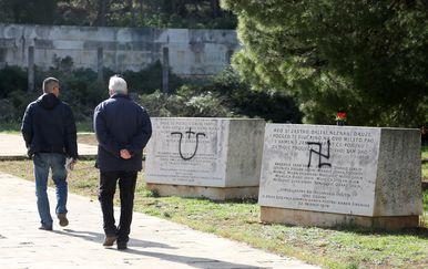 Nacistički i ustaški simboli (Foto: Arhiva/Dusko Jaramaz/PIXSELL)