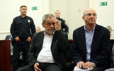 Milan Bandić na suđenju u aferi Agram (Foto: Borna Filic/PIXSELL)