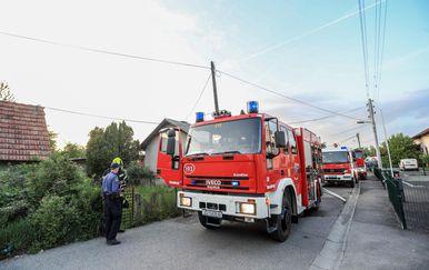 Požar u Svetoj Klari (Foto: Slavko Midzor/PIXSELL)