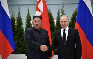 Putin i Kim (Foto: AFP)