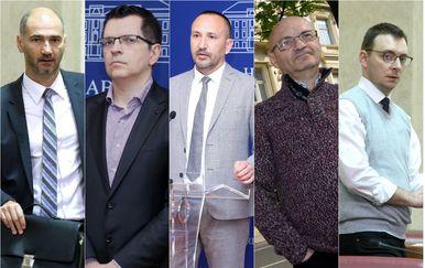 Joško Klisović, Branimir Bunjac, Hrvoje Zekanović, Goran Aleksić i Bojan Glavašević (Foto: Pixsell)