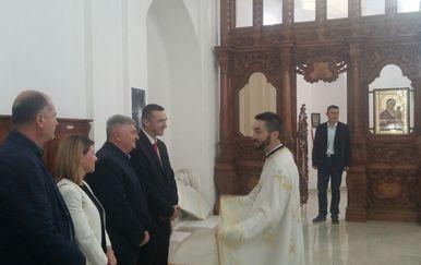 Ivan Penava na proslavi pravoslavnog Uskrsa (Foto: Dnevnik.hr)
