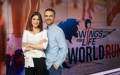 Voditelji programa su Valentina Baus i Dorijan Elezović (Foto: dnevnik.hr)