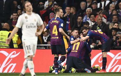 Barcelona - Real Madrid (Foto: AFP)
