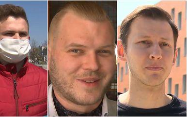 Roko Lukenda, Marko Kozjak, i Dario Begonja