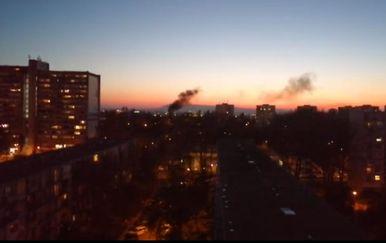 Požar u Novom Zagrebu