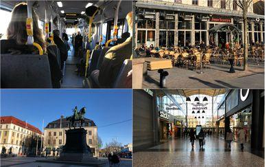 Život u Švedskoj u jeku epidemije koronavirusa