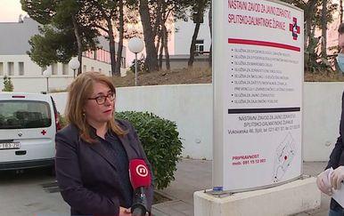 Željka Karin, ravnateljica NZJZ Splitsko-dalmatinske županije, i Mario Jurič