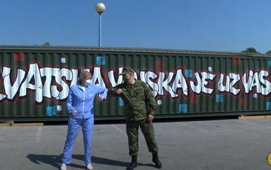 Video podrške hrvatskih vojnika
