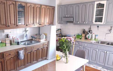 Maja Teklić i njezin zaručnik iz Sesveta dali su staroj kuhinji novi sjaj - 4