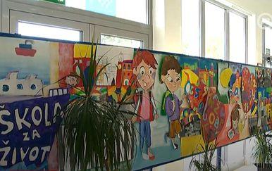 Škola, ilustracija