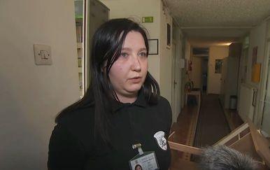 Matea Hušnjak, zaštitarka koja je zaustavila muškarca u Centru za socijalnu skrb