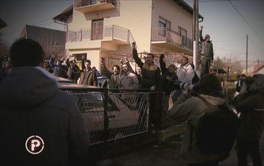 Aktivisti Živog zida na deložaciji - 2