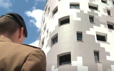 Neboder za stanovanje Hrvatskog vojnog veleučilišta u Zagrebu - 1