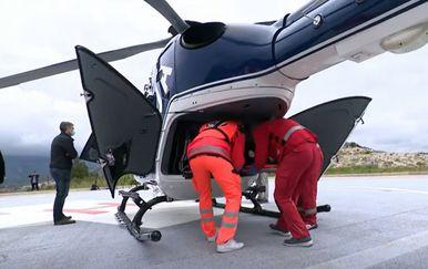 Helikopterska služba Dubrovačko-neretvanske županije - 1