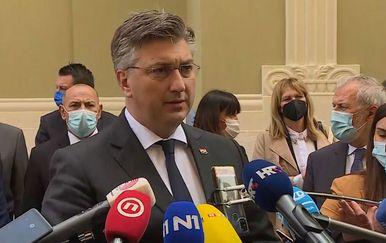 Andrej Plenković u Splitu