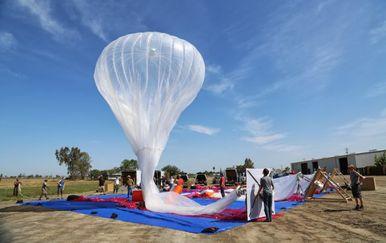 Pogledajte kako Google balonima namjerava osigurati Internet za sve