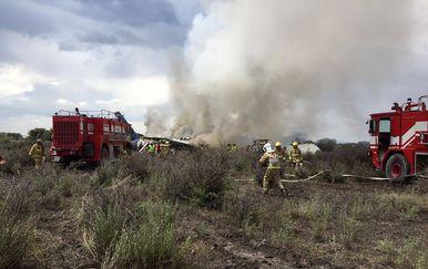 U Meksiku se srušio avion (Foto: AFP)