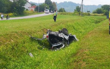 Nesreća u Virovitici (Foto: ICV.hr)
