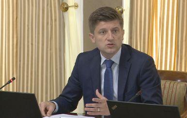 Zdravko Marić na sjednici Vlade (Foto: Dnevnik.hr)