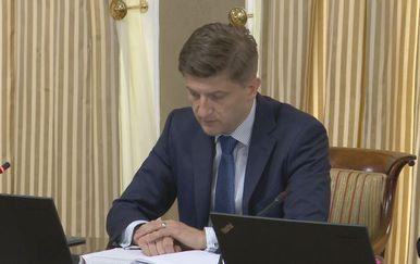 Ministar Marić na sjednici Vlade (Foto: dnevnik.hr)