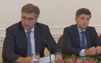 Andrej Plenković i Zdravko Marić (Foto: dnevnik.hr)