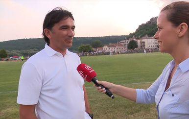 Zlatko Dalić i Barbara Štrbac (Foto: Dnevnik.hr)