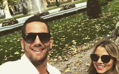 Stipe i Matea Mandalinić (Foto: Instagram)