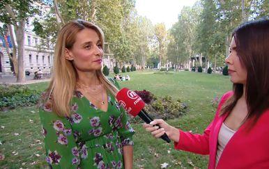 Valentina Baus uživo iz centra Zagreba o alergijama (Foto: Dnevnik.hr) - 2