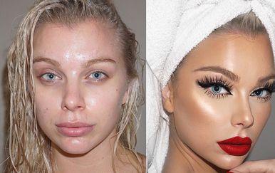 Moć šminke (Foto: Instagram)