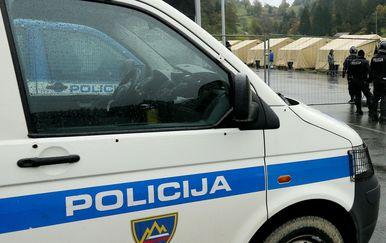 Slovenska policija (Foto: Zeljko Lukunic /PIXSELL)
