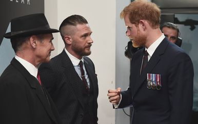 Tom Hardy i princ Harry (Foto: Profimedia)