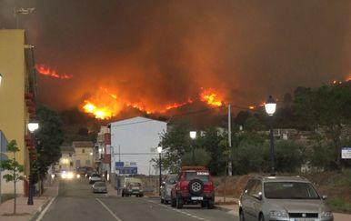 Požari bjesne diljem Europe (Foto: Dnevnik Nove TV)