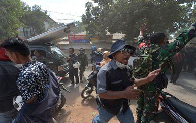 Novi potres u Indoneziji (Foto: AFP)