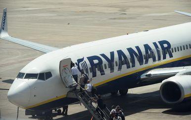 Zrakoplov Ryanaira (Foto: AFP)