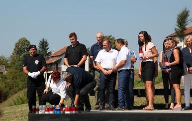 Obilježavanje 27. obljetnice pogibije Gordana Lederera (Foto: Edina Zuko/PIXSELL)